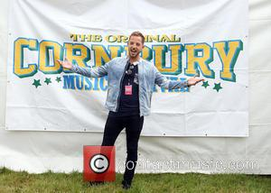 James Morrison photographed playing live at the 2016 Cornbury Music Festival held at the Great Tew Estate, Oxfordshire, United Kingdom...