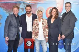 Dominic West, Ellen Degeneres and Guest