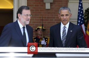 President Barack Obama and Mariano Rajoy