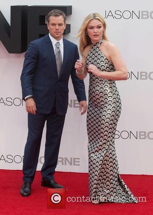 Matt Damon and Julia Stiles at The Odeon, Leicester Square,