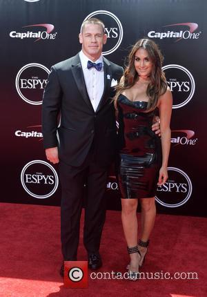 John Cena and Nikki Bella at the ESPYS Awards 2016 held at Microsoft Theater - Los Angeles, California, United States...