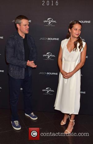 Matt Damon and Alicia Vikander