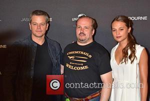 Matt Damon, Guest and Alicia Vikander
