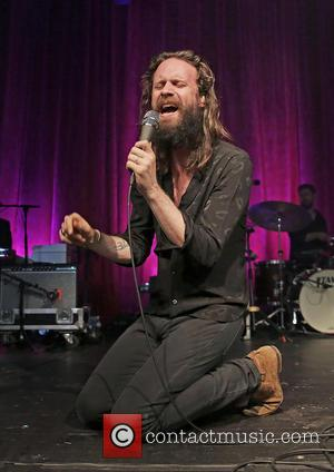 Joshua Tillman aka Father John Misty performs live at Liverpool Guild of Students as part of his UK tour. United...