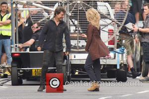 Annabelle Wallis and Tom Cruise