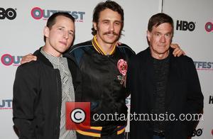 Justin Kelly, James Franco and Gus Van Sant