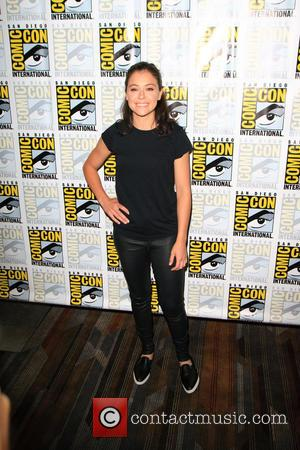 Tatiana Maslany at a Comic-Con International: San Diego photocall for the new series of Orphan Black. California, United States -...