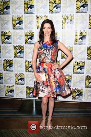 Bitsie Tulloch at the Comic-Con International: San Diego photocall for the new series of 'Grimm', California, United States - Saturday...