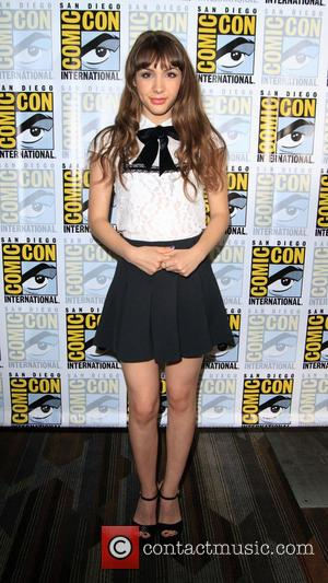 Hannah Marks at the Comic-Con International: San Diego photocall for 'Dirk Gently', San Diego, California, United States - Saturday 23rd...