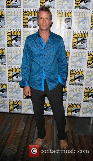 Thomas Jane and Dominique Tipper at the Comic-Con International: San Diego photocall for 'The Expanse', San Diego, California, United States...
