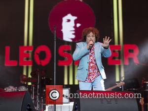 Leo Sayer performs on stage on the first day of Rewind Festival held at Scone Palace - Perth, United Kingdom...