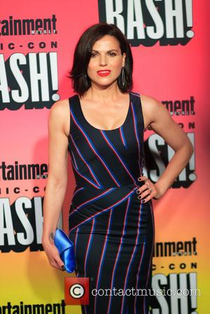 Lana Parrilla and various other celebrities gathered on Saturday night for Entertainment Weekly's annual Comic Con party held at the...
