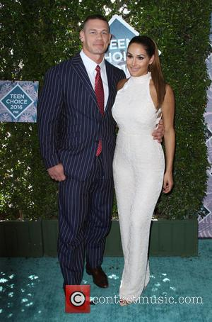 John Cena and Nikki Bella at the 2016 Teen Choice Awards held at The Forum - Los Angeles, California, United...