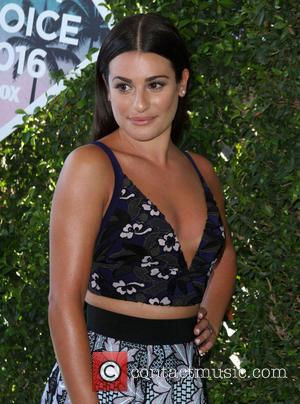 Lea Michele Poses Nude To Promote Body Confidence