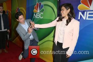 Ben Feldman & America Ferrera at the 2016 Summer TCA Tour - NBCUniversal Press Tour Day 1 held at The...