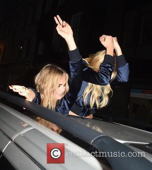 Cara Delevingne and Margot Robbie