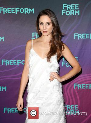 Troian Bellisario Jets Off To Europe For Bachelorette Party