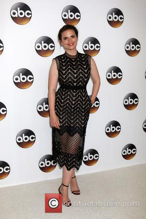 Hayley Atwell poses alone and with Eddie Cahill at the ABC 2016 TCA Summer Party held at the Beverly Hilton...