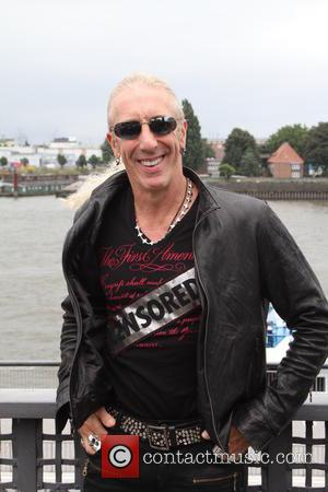 Dee Snider, head of the band Twisted Sister, presenting his new album 'We Are The Ones' at Hard Rock Cafe...