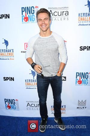 Derek Hough at Clayton Kershaw's 4th Annual 'Ping Pong 4 Purpose' Celebrity Tournament held at Dodger Stadium - Los Angeles,...