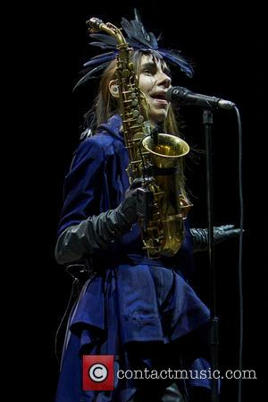PJ Harvey performing on the second day of Way Out West Festival 2016 held in Gothenburg, Sweden - Friday 12th...