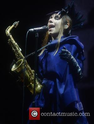 PJ Harvey performing on the second day of Way Out West Festival 2016 held in  Gothenburg, Sweden - Friday...