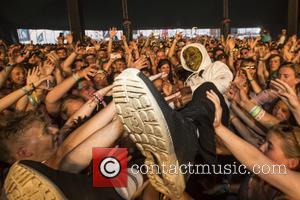 Rat Boy aka Jordan Cardy  performs at Boardmasters Festival - Day 5 - Newquay, United Kingdom - Saturday 13th...