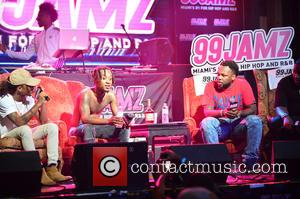 Slim Jxmmi and Swae Lee of Rae Sremmurd performing live at 99 Jamz UnCensored held at Revolution Live in Fort...