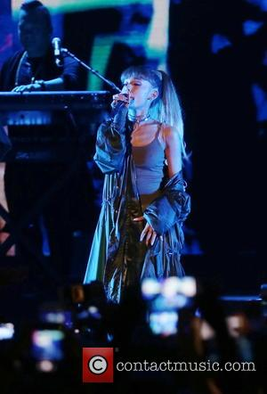 Ariana Grande performing on stage at the 2016 Billboard Hot 100 Festival. New York, United States - Saturday 20th August...