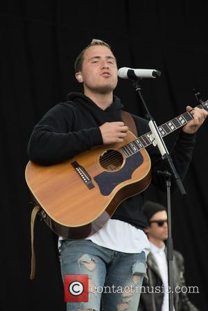 Mike Posner seen on stat at the 2016 V Festival held at Weston Park, Staffordshire, United Kingdom - Sunday 21st...