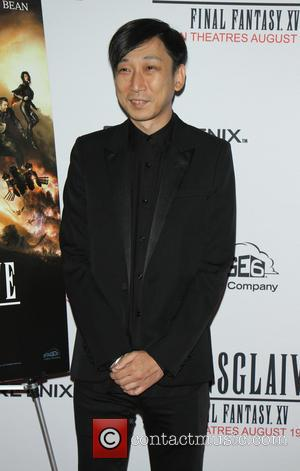 Actor Aaron Paul and director Takeshi Nozue attend screening of 'Kingsglaive: Final Fantasy XV' presented by Sony Pictures, Stage6, and...