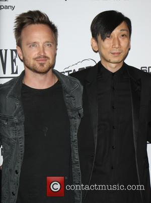 Aaron Paul and Takeshi Nozue