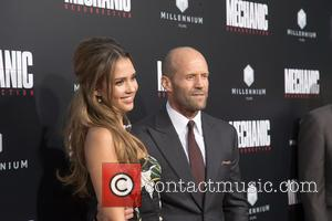 Jessica Alba and Jason Statham