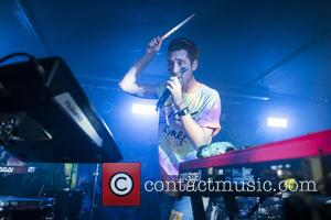 Dan Smith and the rest of Bastille perform at a secret London show at the Shoreditch Courtyard Theatre. The show...