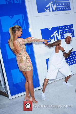 Heidi Klum and Nick Cannon