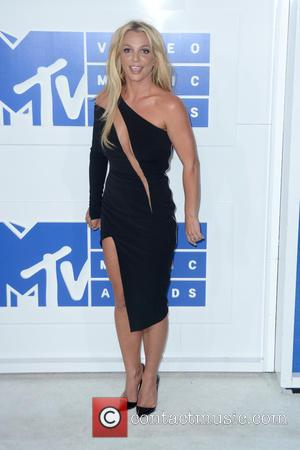 Britney Spears attending the MTV Video Music Awards 2016 held at the Madison Square Garden in New York City, United...