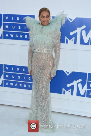 Beyonce attending the MTV Video Music Awards 2016 held at the Madison Square Garden in New York City. United States...