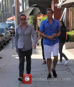 Matthew Perry goes out with a friend in Beverly Hills, California, United States - Thursday 1st September 2016