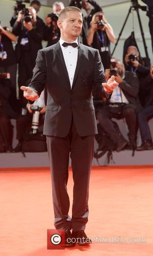 Jeremy Renner at the 73rd Venice Film Festival showing of his new film 'Arrival'. Italy - Thursday 1st September 2016