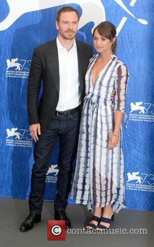 Michael Fassbender and Alicia Vikander