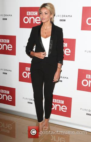 Michelle Keegan at the photocall for the new series of the BBC show 'Our Girl'. Michelle plays the role of...