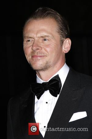 Simon Pegg at the 2016 GQ Men of the Year Awards in association with Hugo Boss held at  the...