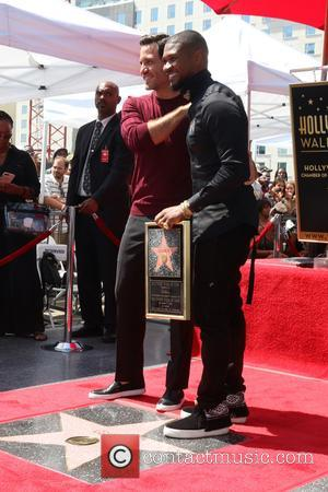 Usher seen with various family, friends and colleagues at his Star ceremony. The musician and actor is the latest celebrity...
