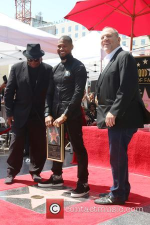 Terry Lewis, Aka Jimmy Jam, Usher Raymond and Harvey Weinstein