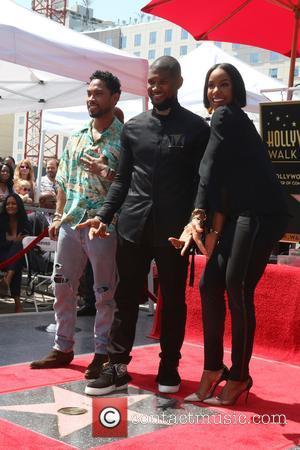 Miguel, Usher Raymond and Kelly Rowland
