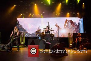 Nightwish, Floor Jansen, Marco Hietala and Troy Donockley