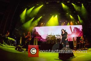 Nightwish, Floor Jansen, Marco Hietala, Tuomas Holopainen, Troy Donockley and Jukka Nevalainen