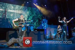 Nightwish, Marco Hietala, Floor Jansen and Troy Donockley