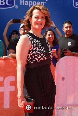 Sigourney Weaver at the 2016 Toronto International Film Festival Premiere of 'A Monster Calls' held at Roy Thompson Hall -...