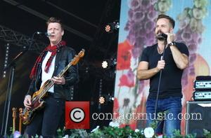 Travis, Dougie Payne and Alfie Boe